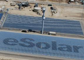 ESolar Picks Up $22M for Concentrated Solar For Oil and Gas Markets