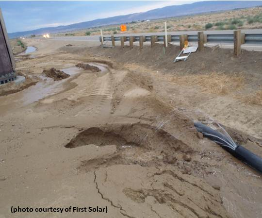 articles read vandalism first solar exelon antelope valley ranch