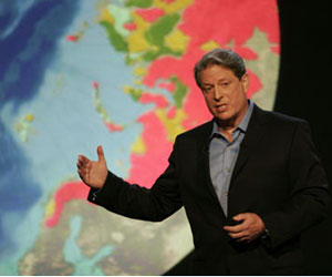 Al Gore Backs Carbon Tax