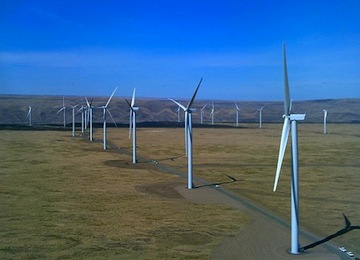 Big Wind: 845 MW Shepherds Flat Wind Farm Marks Opening