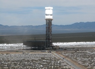 Giant Solar Tower in California Powers Up