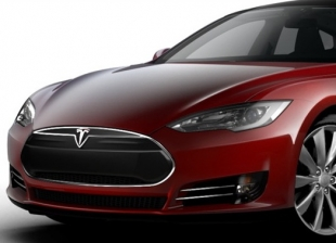 Tesla Model S Electric Vehicle Countdown Begins