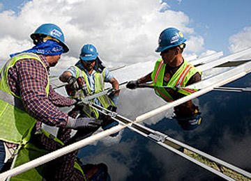 "The Blue Wing Solar Project: ""Truly Utility Scale"""