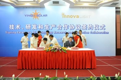 Innovalight Signs With Yingli for Second Chinese Solar Deal