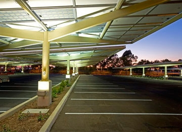 Envision Solar's PV Parking Structures, Now Public