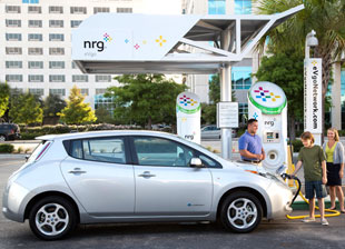 What's Behind NRG's Slow Rollout of EV Chargers in California?