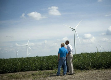 On Wind, Obama Sees a Clean Energy Winner