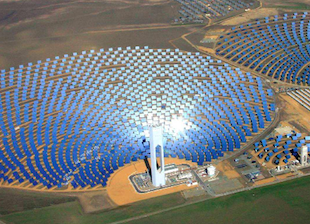 Abengoa to Build 110 MW Solar Tower Storage Plant in Chile