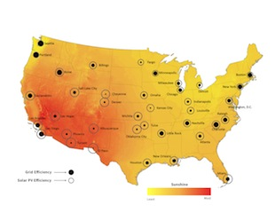 Solar Versus the Grid: This Map Shows Where PV Makes the Most Sense