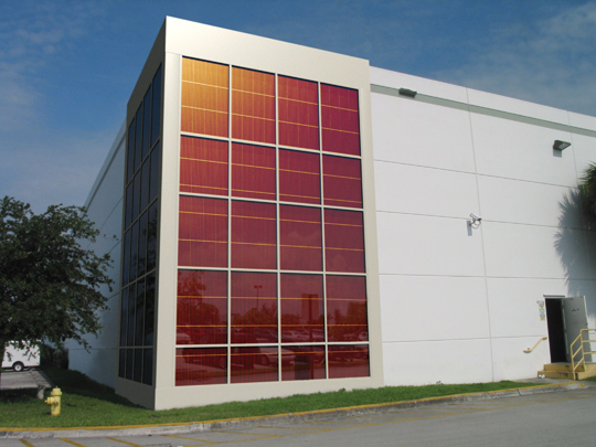 Konarka Runs Solar Curtain Wall Pilot Greentech Media