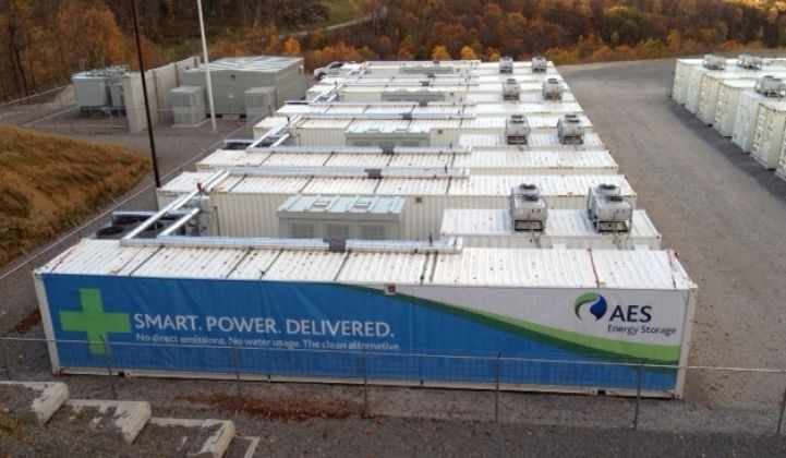 AES Launches Modular Grid Battery Alternative to Peaker Plants