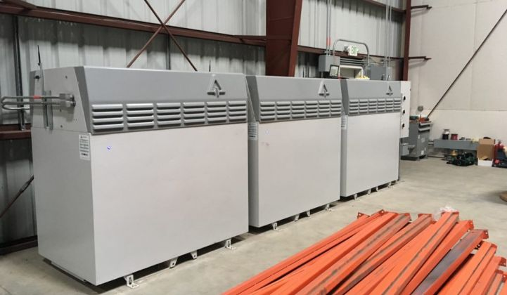 The Avalon flow batteries installed in a Santa Cruz microgrid contained a rented electrolyte to lower the project expense.