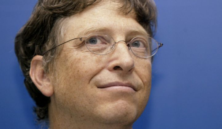 Sorry Bill Gates, You Are Wrong on Renewable Energy