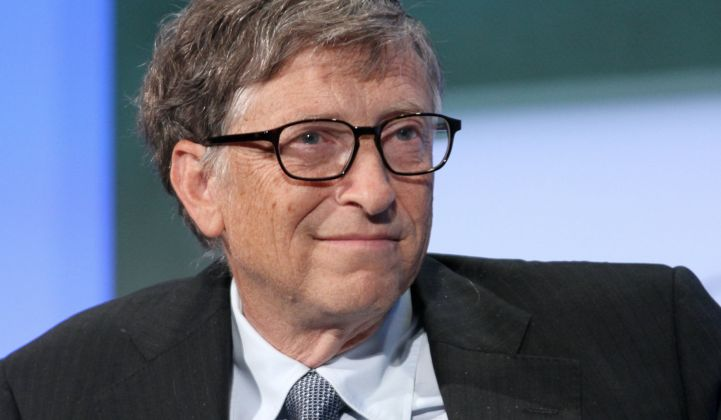 Bill Gates and Other Famous Investors Launch $1 Billion Energy Tech Fund Using Lessons Learned