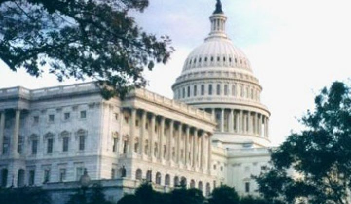 Critical Congressional Vote on Tax Grant Holds Renewables Hostage