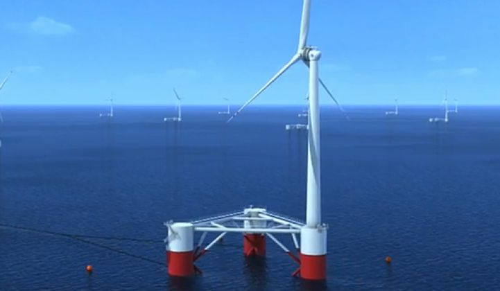 Report: Offshore Wind Can Be Installed in Deeper Waters at Cheaper Cost