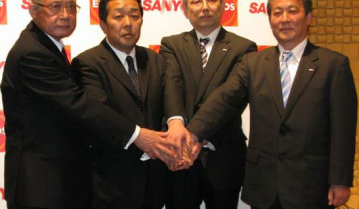 Eneos, Sanyo Create Solar Cell JV, See 1GW Production in 2015