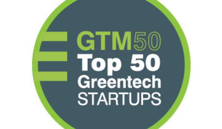 Top 50 VC-Funded Greentech Startups