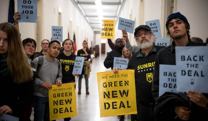 Transportation experts lay out their priorities for possible Green New Deal policies.