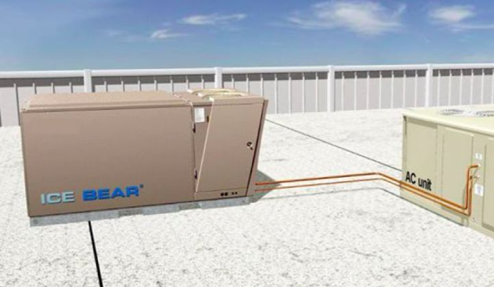 Ice Energy Launches the Combined Rooftop PV-AC Energy Storage System