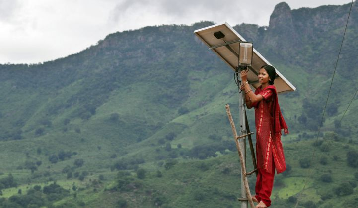 India's $250M Off-Grid Solar Market Boosts the Case for Battery Storage