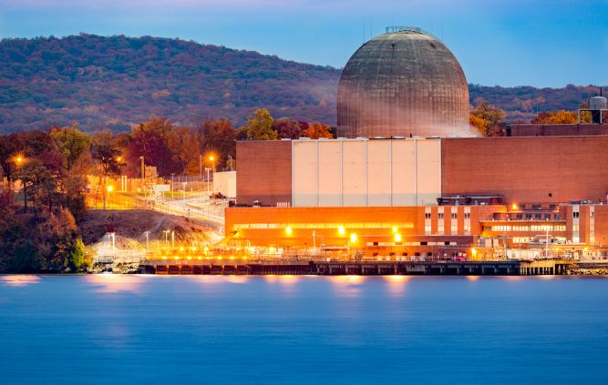 New York nuclear power plant zero emissions credits