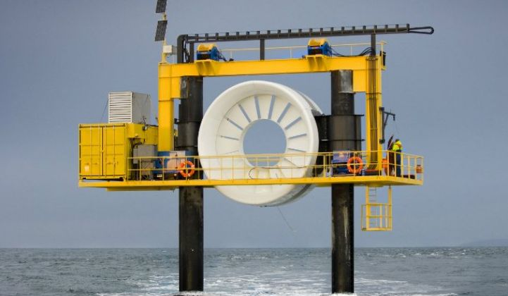 Researchers Pair Hydrogen Storage With Marine Renewables to Test Future Possibilities