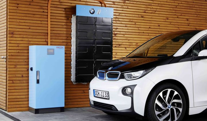 BMW Is Turning Used i3 Batteries Into Home Energy Storage Units