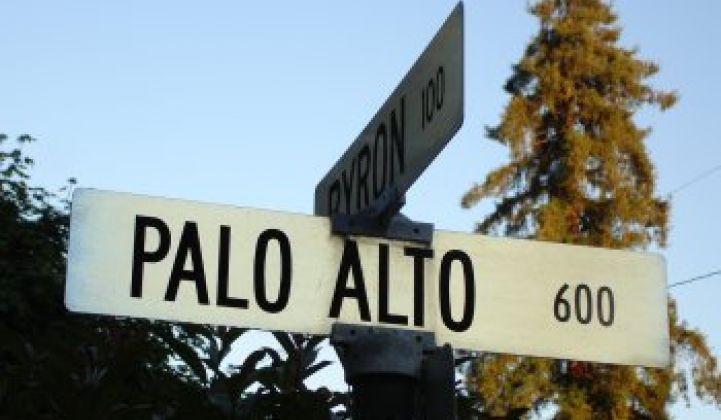 It's Official: Palo Alto, Calif. Has a Feed-In Tariff for PV