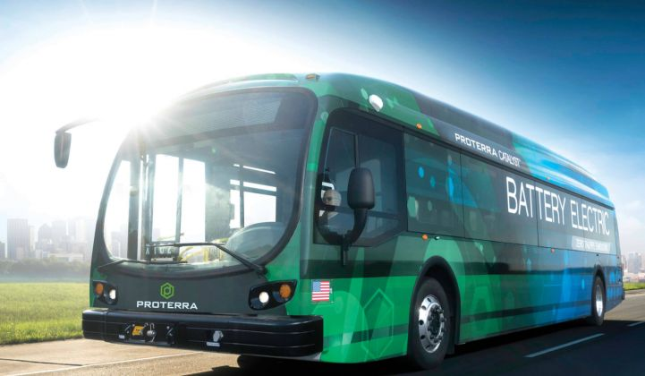 Proterra Nets $55 Million From BMW i Ventures and Al Gore's Generation Investment Management