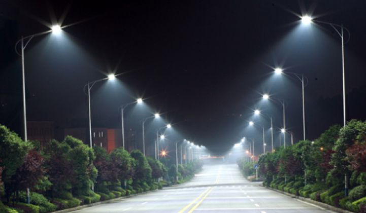 Will Street Lights Become the Nodes of the Networked City?