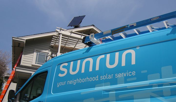 Sunrun Keeps Growing, While Prepping for a Whole New Grid Services Business