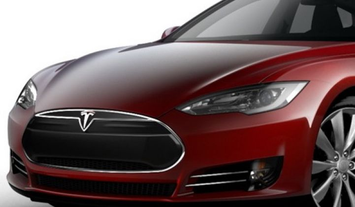 Tesla Model S Beta Revealed
