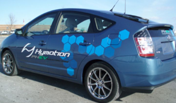 Toyota Dealers Sold on Hymotion Plug-In Hybrids