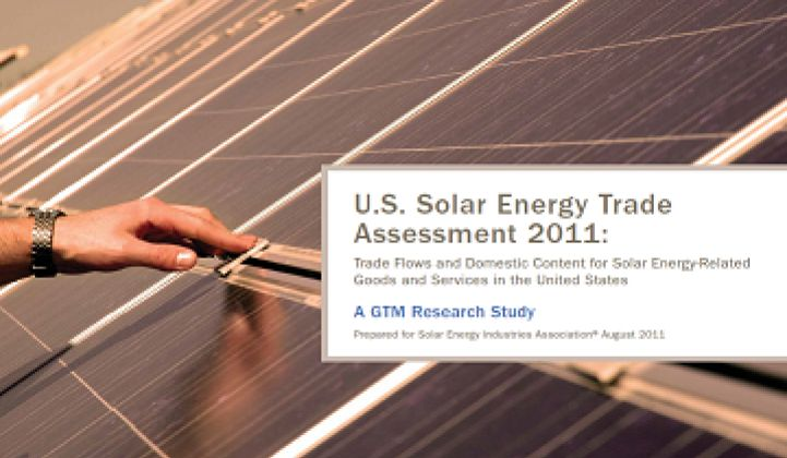 US Solar Stat of the Week: $247M to $540M Net Exports To China