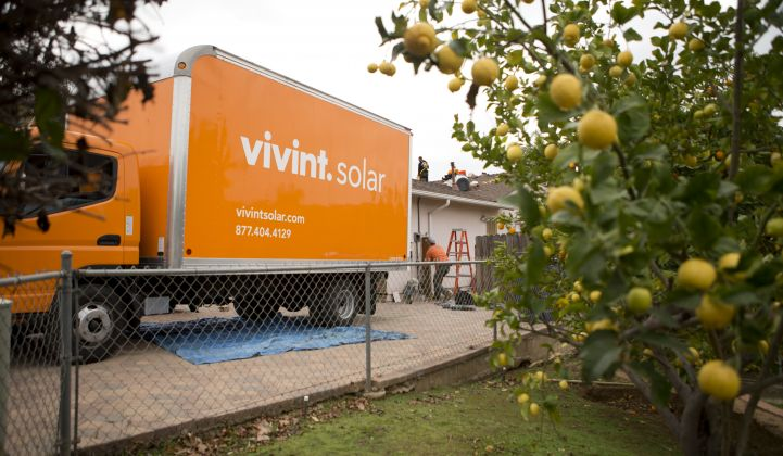 Vivint Survives Its Brush With SunEdison and Beats Quarterly Megawatt Guidance