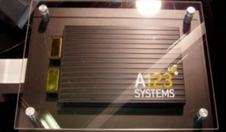 By The Numbers: A123 Systems' IPO Papers