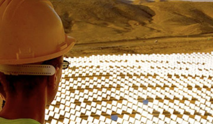 BrightSource Raises Another $201M for Solar Thermal
