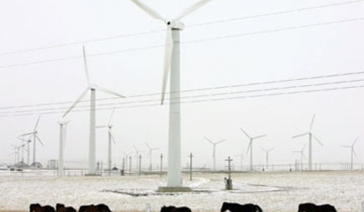 China's Wind Market: Growing, But Challenged by Grid Realities