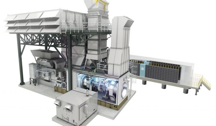 GE's Current Builds World's First Utility Battery-Gas Turbine Hybrid