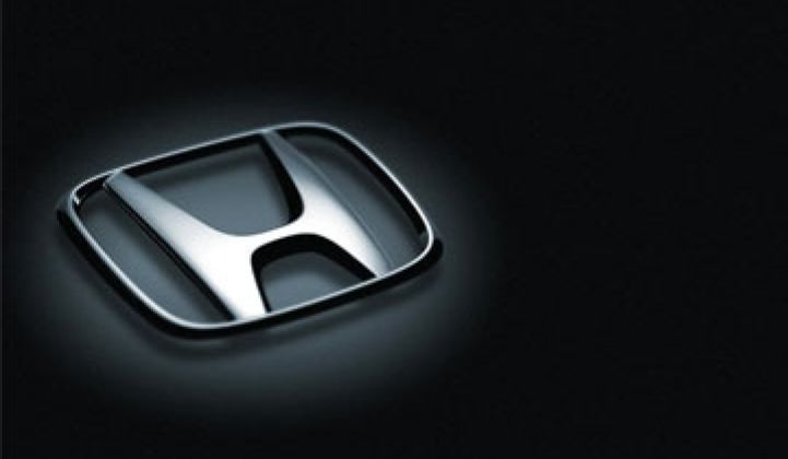 Honda to Announce Plug-Ins, All-Electrics for 2013 Tomorrow