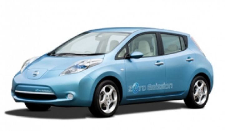 Nissan Turns Over a New Leaf With Electric Car, New HQ