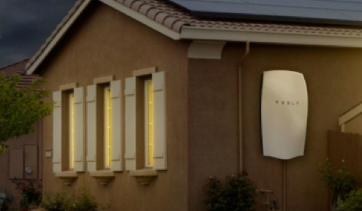 SolarCity's Plan for Tesla Batteries: Share Grid Revenues With Homeowners