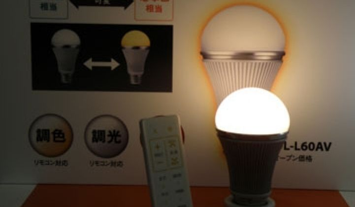 Sharp Enters Home LED Market