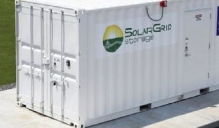 3 Factors Driving the Marriage of Solar and Energy Storage