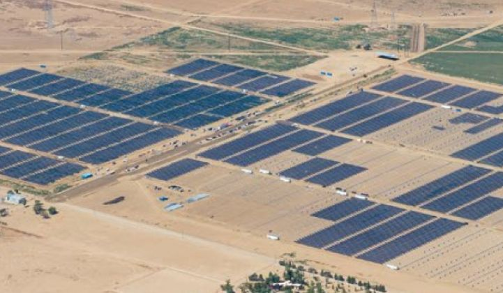 Solar Star, Largest PV Power Plant in the World, Now Operational