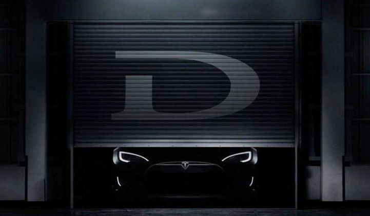 Tesla's Model D Is an All-Wheel-Drive, High-Performance Option
