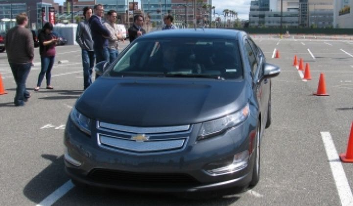 Taking the Volt for a Test Drive