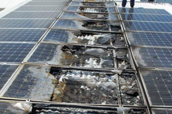 Putting Out The Solar Panel Fire Threat Greentech Media