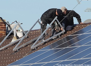 Are Solar Panels Facing the Wrong Direction?